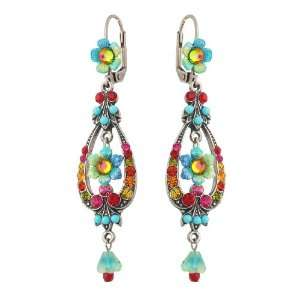 Turquoise and Multicolor Swarovski Crystals; Vintage Style   Special
