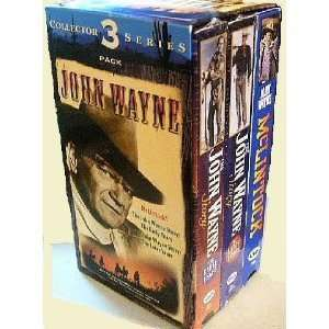 John Wayne Collectors 3 pack Series: Movies & TV