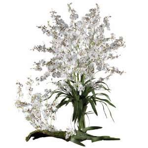 Dancing Lady (Set of 12) White Colors   Silk Flower Home & Kitchen