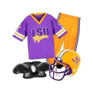 Louisiana State University Tigers Helmet and Uniform Set   Youth Team