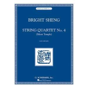 String Quartet No. 4   Silent Temple Score and Parts