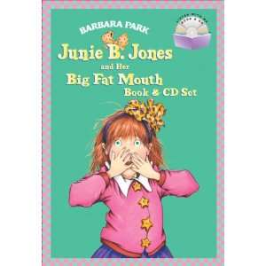 Junie B. Jones and Her Big Fat Mouth Book & CD Set (A Stepping Stone