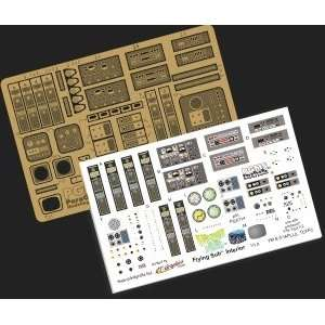 Voyage to the Bottom of the Sea Flying Sub Model Kit Photoetch and