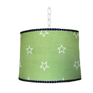 Green Star Hanging Lamp