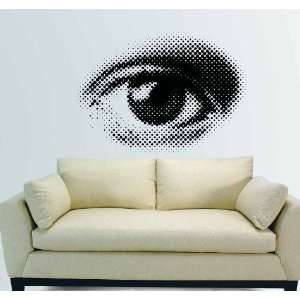 EYE Eye Wall Art Decor Mural Vinyl Decal Sticker 27 W