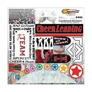 Scrappin Sports Cardstock Sport/School Stickers 12X12