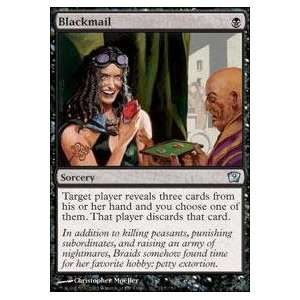 Magic the Gathering   Blackmail   Ninth Edition   Foil