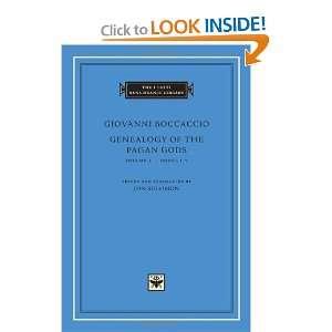 Genealogy of the Pagan Gods, Volume 1 Books I V (I Tatti