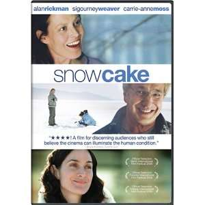 Snow Cake Alan Rickman, Sigourney Weaver, Scott Wickware