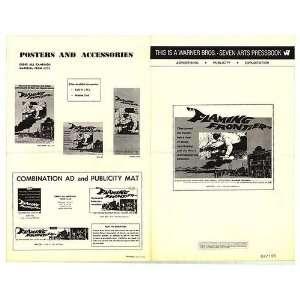 Flaming Frontier Original Movie Poster, 12 x 17 (1968