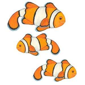 Clown Fish Repositionable Wall Mural Decal