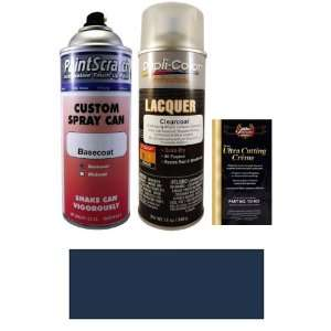 12.5 Oz. Mauritius Blue Metallic Spray Can Paint Kit for 2005 Mercedes