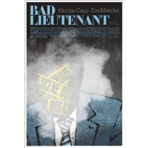 The Bad Lieutenant: Port of Call New Orleans Poster Movie Style E (11