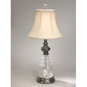 Dale Tiffany Cenacolo Crystal Night Light Table Lamp: Home