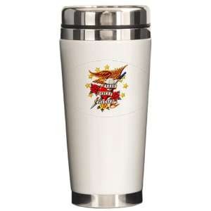 Travel Drink Mug Bald Eagle Death Before Dishonor: Everything Else