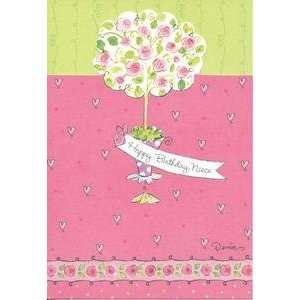 Happy Birthday Greeting Card Niece Tree With Flowers: Everything Else