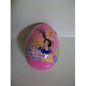 Pink Easter Egg filted with Candy and Stickers Toys & Games