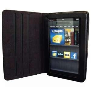 EMPIRE  Kindle Fire Black Signature Leather Folio Case [EMPIRE