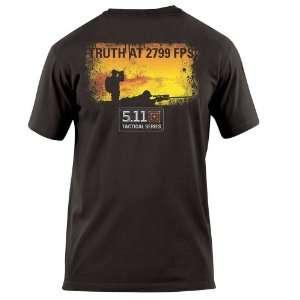 11 #40088I 2799 FPS Short Sleeve Logo Tee Shirt (Black)