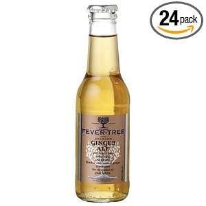 Fever Tree Premium Ginger Ale, 6.8 Ounce Glass Bottles (Pack of 24)