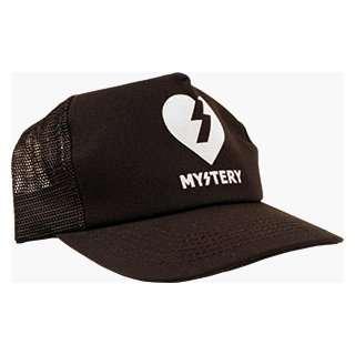 MYSTERY HEART/TEXT TRUCKER HAT