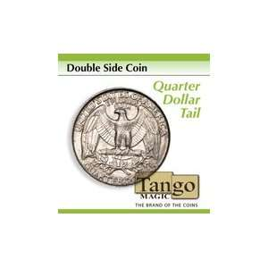 Double Head Quarter   Tango   Money Magic Trick Toys & Games
