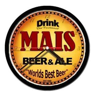 MAIS beer and ale cerveza wall clock: Everything Else