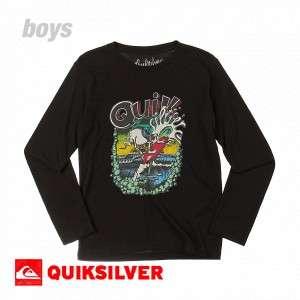 Quiksilver T Shirts   Quiksilver High Flyer Long Sleeve T Shirt