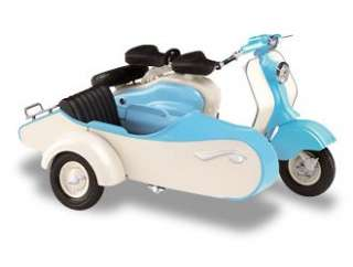 LD125 with Side Car (1958) Diecast Model Motorbike (by Solido 110006