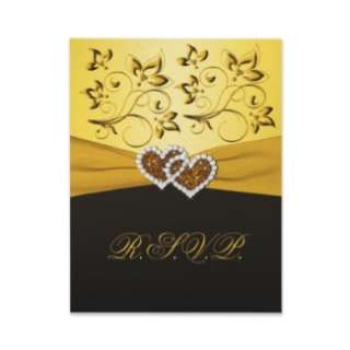 50th Anniversary Joined Hearts Wedding Invitation from Zazzle