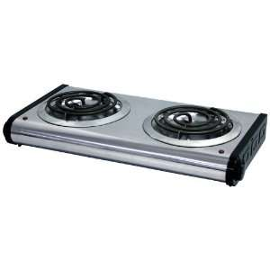 Stove 2 Burner Electric Portable: Kitchen & Dining