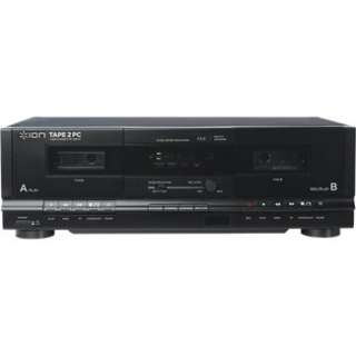 Tape 2 PC USB Dual Cassette Deck and Archiver in Professional Cassette
