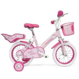 Hello Kitty Children Bicycle   Bike with 14 Wheels: .co.uk