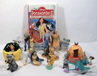 Lot of Disney Pocahontas Indian polly toys figures A
