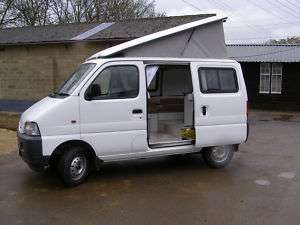 Suzuki Carry camper Conversion / small camper van