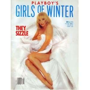 1988 Playboy Girls of Winter Newsstand Special magazine