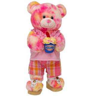 Precious in Pink Strawberry Cheesecake Blizzard Bear   Build A Bear