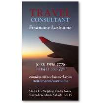 Horizon Travel Flight Business Card by onlinecards
