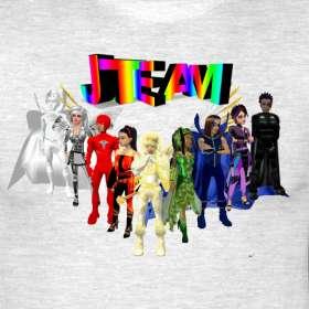 JTeam Cartoon Mens XXXL T Shirt  JTeam Cartoons