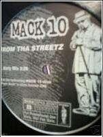 MACK 10 From Tha Streetz 2000 Rap 12 EX+++ ICE CUBE