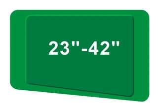 TV Motorized Remote Controller Slim Line Tilt Bracket 32 to 42