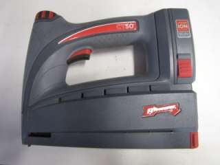Cordless Electric Staple Gun Kit 10.8 volt battery and charger used