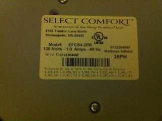 Comfort EFCS4 2PR   Dual Hose Mattress Air Pump w/ one digital control