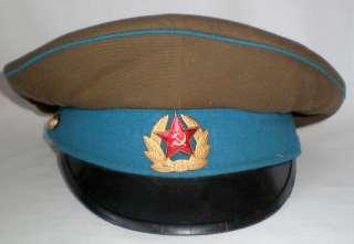 Soviet Russia Military Air Force Visor Hat Cap Original