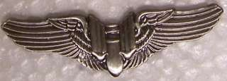 Large Hat Pin Air Force Gunner Wings Jacket Epaulet NEW