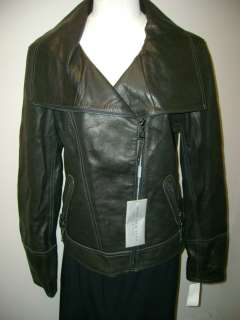 Andrew Marc New York Leather Erin Jacket L NWT $568