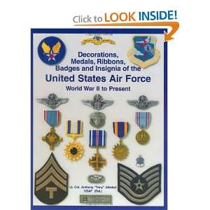 (Army Air Force and U.S. Air Force Decorations) Decorations, Medals