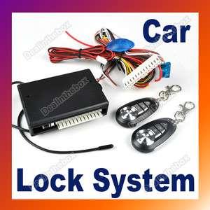 Car Remote Central Lock Locking Kit Keyless Entry System