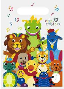 BABY EINSTEIN BIRTHDAY PARTY SUPPLIES LOOT TREAT BAGS