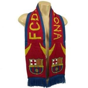 FC BARCELONA FOOTBALL CLUB OFFICIAL LOGO SOCCER SCARF